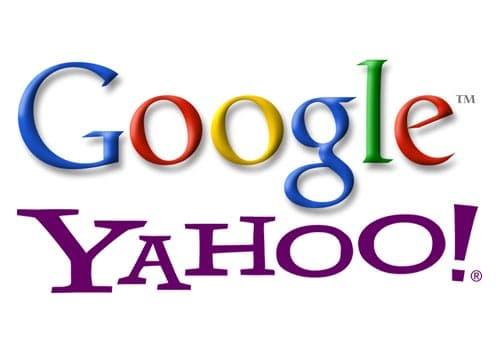 Motores de busqueda mas utilizados ¿Google o Yahoo?